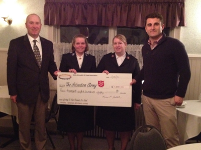 Berks-Schuylkill Oil Heat Association Donates $4,875 to the Salvation Army